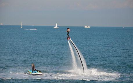 Létání na Hoverboardu