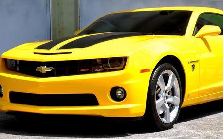 Prožijte si jízdu v supersportu Chevrolet Camaro