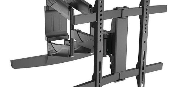 """Držák TV GoGEN L-Curve polohovatelný, pro úhlopříčky 32"""" až 55"""", nosnost 45 kg černý (GOGDRZAKTURNCURV)3"""