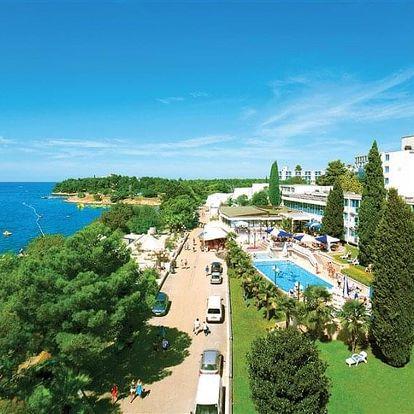 Chorvatsko, Istrie, autobusem na 10 dní all inclusive