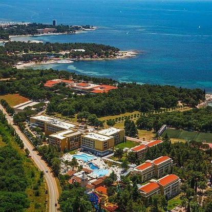 Chorvatsko, Istrie, autobusem na 10 dní snídaně