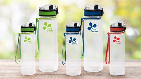 Ekologická láhev na pití z BPA free materiálu
