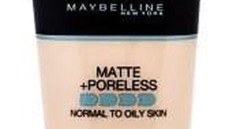 Maybelline Fit Me! Matte + Poreless sjednocující makeup s matujícím efektem 30 ml odstín 110 Porcelain