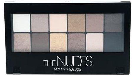 Maybelline The Nudes Eyeshadow Palette paletka očních stínů 9,6 g