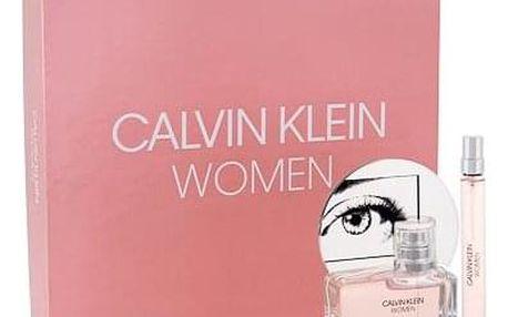 Calvin Klein Calvin Klein Women 50 ml sada parfémovaná voda 50 ml + parfémovaná voda 10 ml pro ženy