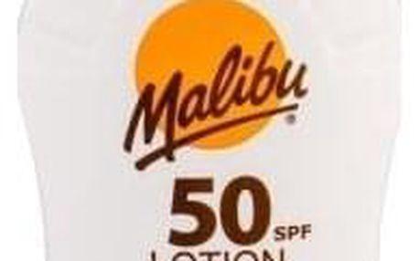 Malibu Lotion SPF 50 100 ml opalovací mléko s aloe vera unisex