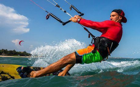 Vítr v zádech: kurz kitování na Lipně vč. vybavení