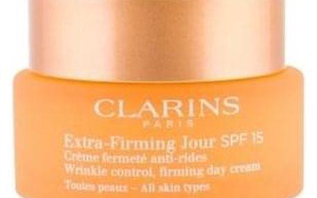 Clarins Extra Firming Jour SPF 15 50 ml zpevňující krém pro ženy