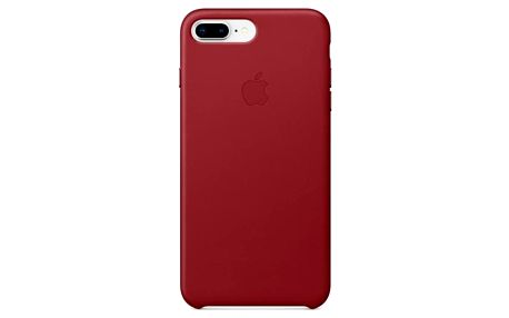 Apple Leather Case pro iPhone 8 Plus / 7 Plus (PRODUCT)RED červený (MQHN2ZM/A)