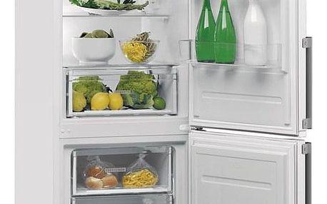 Chladnička s mrazničkou Whirlpool W5 821E W H bílá