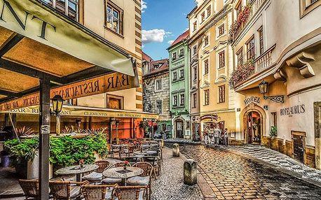 Praha ve 4* hotelu se snídaní + luxusní večeře, sauna, víno nebo plavba po Vltavě
