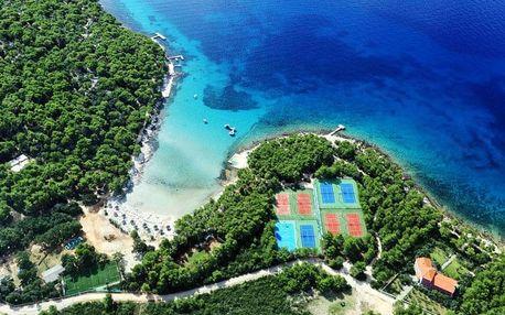 Chorvatsko, Severní Dalmácie, vlastní dopravou na 8 dní all inclusive