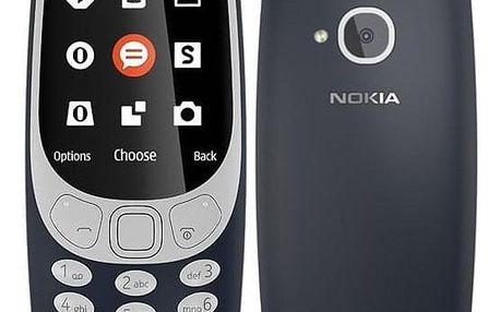 Nokia 3310 (2017) Dual SIM modrý (A00028108)