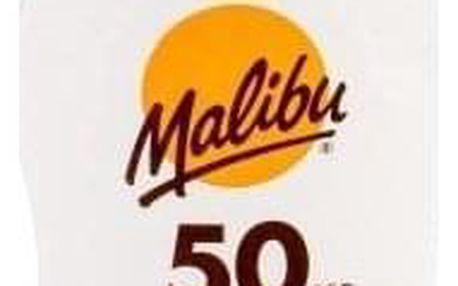 Malibu Lotion SPF 50 200 ml opalovací mléko s aloe vera unisex