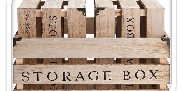 Koopman Sada dekoračních úložných boxů NO.856, 3 ks2