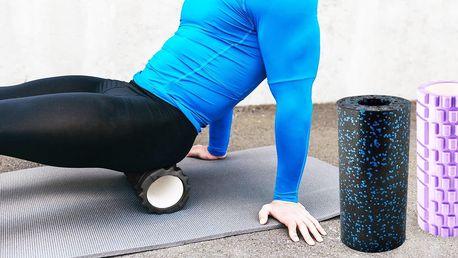 Masážní válec na cvičení, masáže i rehabilitace