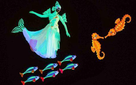 Vstupenka na dětské představení O zlaté rybce