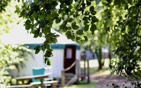 Severozápadní Anglie: Yurtcamp Devon