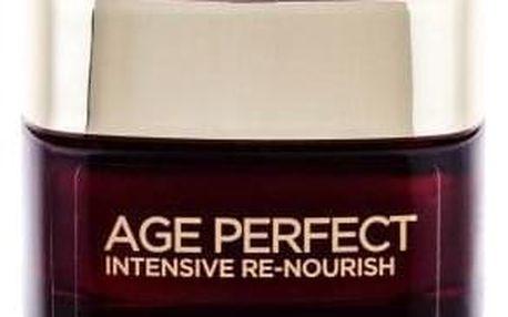 L´Oréal Paris Age Perfect Intensive Re-Nourish 50 ml obnovující krém pro zralou pleť s manukou pro ženy