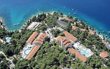 Chorvatsko - Rabac na 4-8 dnů, polopenze