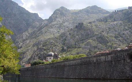 Černá Hora autobusem na 11 dnů, polopenze