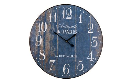 Emako Nástěnné hodiny ANTIQUILE de PARIS - kulaté Ø 60 cm