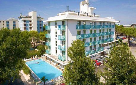 4–10denní Itálie, Bibione | Hotel Katja**** 50 m od pláže | Bazén, plážový servis zdarma