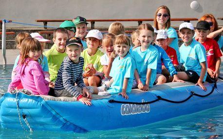 Příměstský tábor pro děti s plaváním a programem