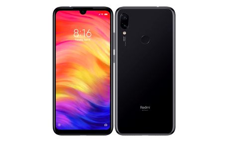 Mobilní telefon Xiaomi Redmi Note 7 128 GB černý (22884)