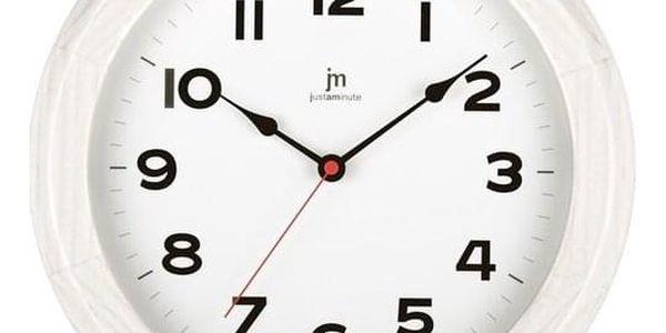 Lowell 21034B Designové nástěnné hodiny pr. 30 cm