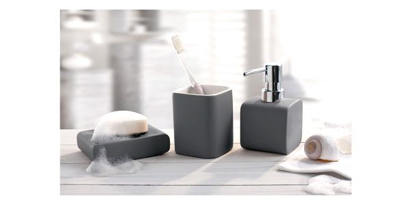 Kleine Wolke dávkovač mýdla Cubic antracit2