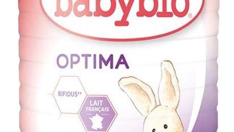 BABYBIO Optima 2 pokračovací mléčná kojenecká výživa v prášku 900 g