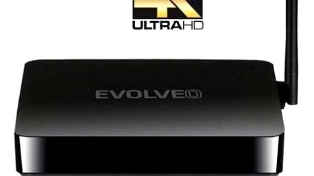 Multimediální centrum EVOLVEO Android Box Q5 4K, Quad Core Smart TV box