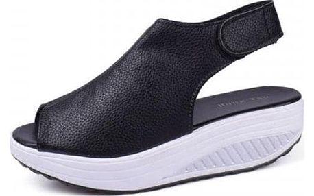 Sandály na vysoké platformě - 4 barvy