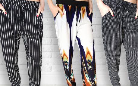 Lehounké a pohodlné dámské kalhoty na léto