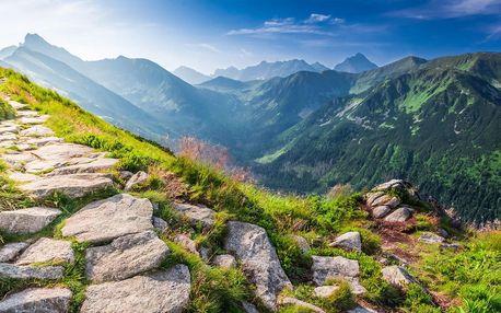 Letní toulky polskými Tatrami s pobytem v Zakopaném