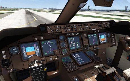 Staň se virtuálním pilotem letadla