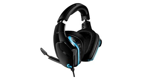 Headset Logitech Gaming G635 7.1 Surround Lightsync černý (981-000750)
