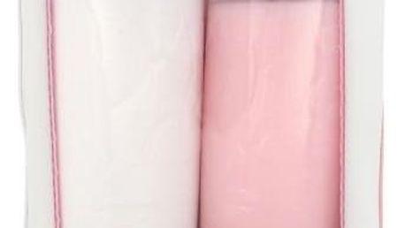 Lancôme Galatée Confort dárková kazeta pro ženy čisticí mléko Galatee Confort 400 ml + čisticí voda Tonique Confort 400 ml + kosmetická taška