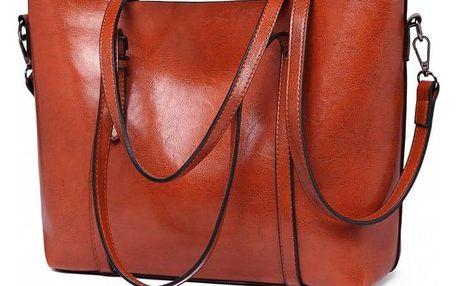 Dámská hnědá kabelka Lilian 6709