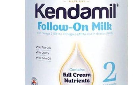 6x KENDAMIL Pokračovací mléko 2 (900 g)