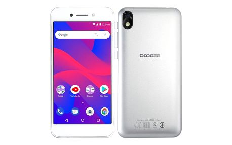 Mobilní telefon Doogee X11 Dual SIM stříbrný (DGE000246)