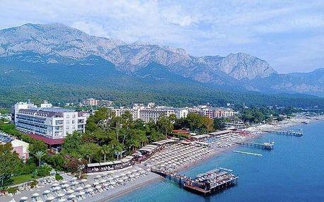 Turecko, Kemer, letecky na 8 dní all inclusive