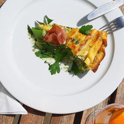 Aperol Spritz a domácí quiche pro 2 osoby