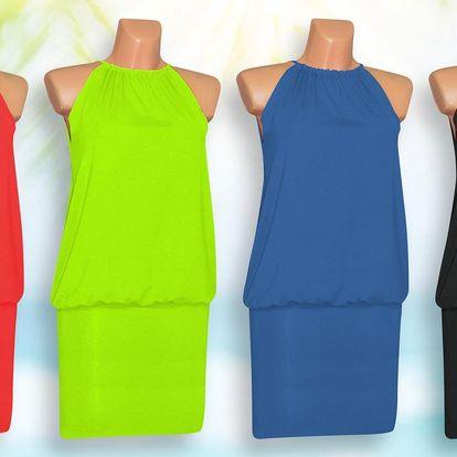 Dámské letní šaty bez rukávů