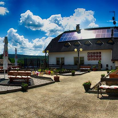Hotel Zlatý potok na Šumavě se snídaní a bazénem