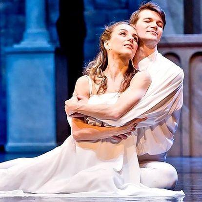 Romantické baletní představení Romeo a Julie
