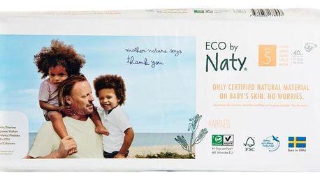 NATY NATURE BABYCARE 5 JUNIOR, 40 ks (11-25 kg) ECONOMY PACK - jednorázové pleny
