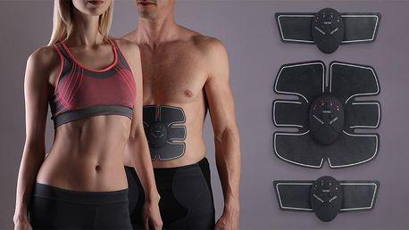 EMS posilovač svalů na břišní svaly i paže