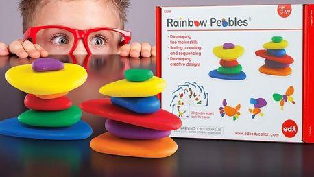 Rainbow Pebbles: Zábavná pomůcka pro rozvoj dětí